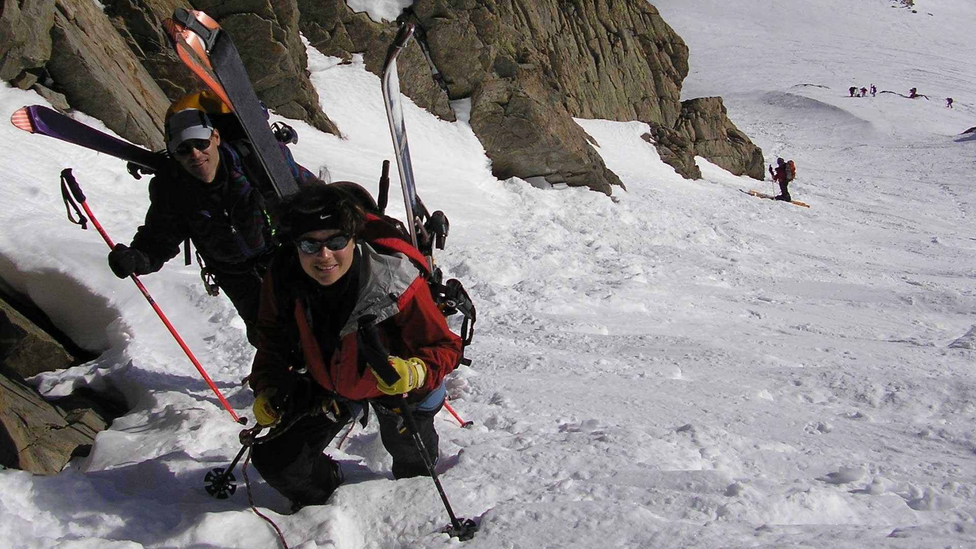 Stages ski de randonnée niveau 4