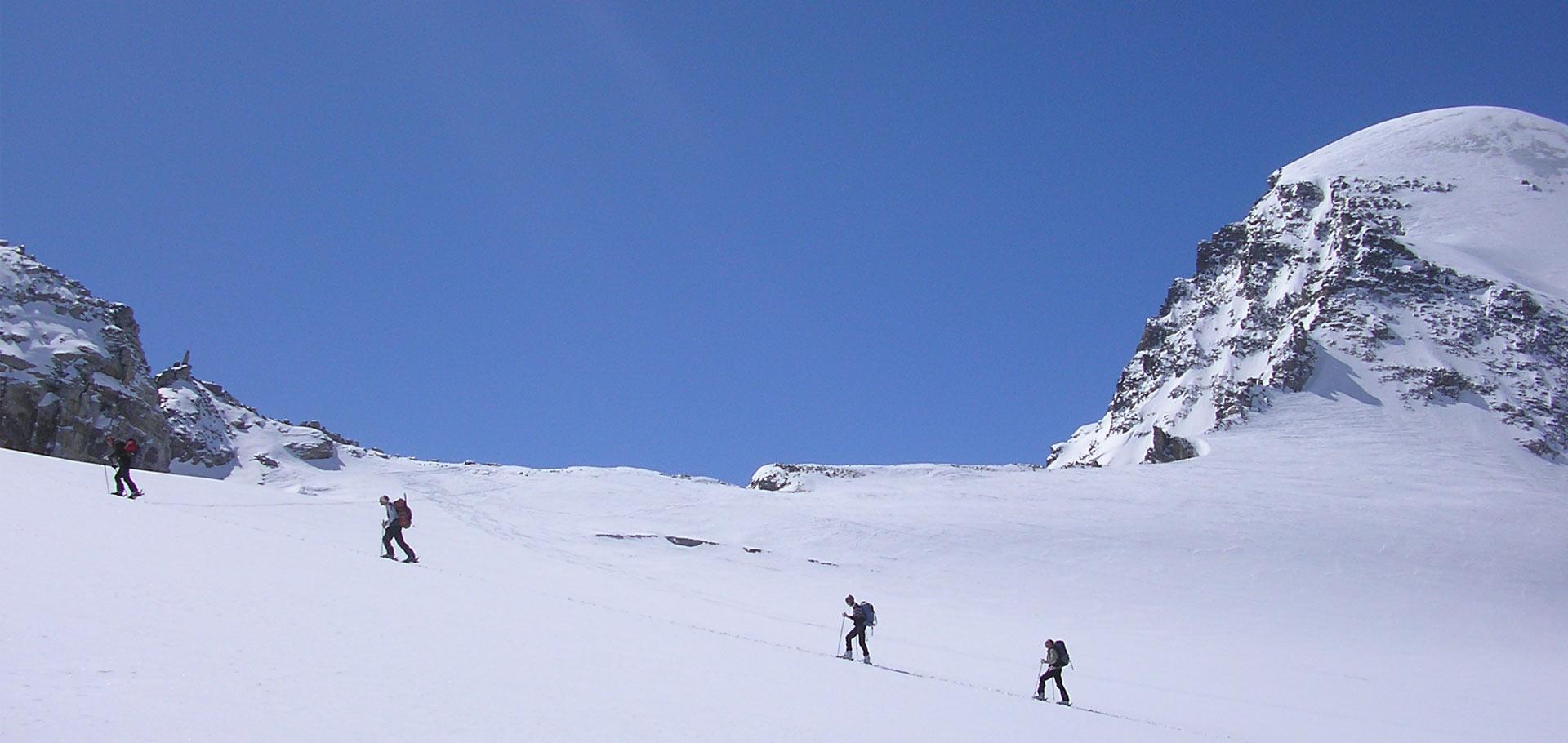 Stages niveau 5 ski de randonnée