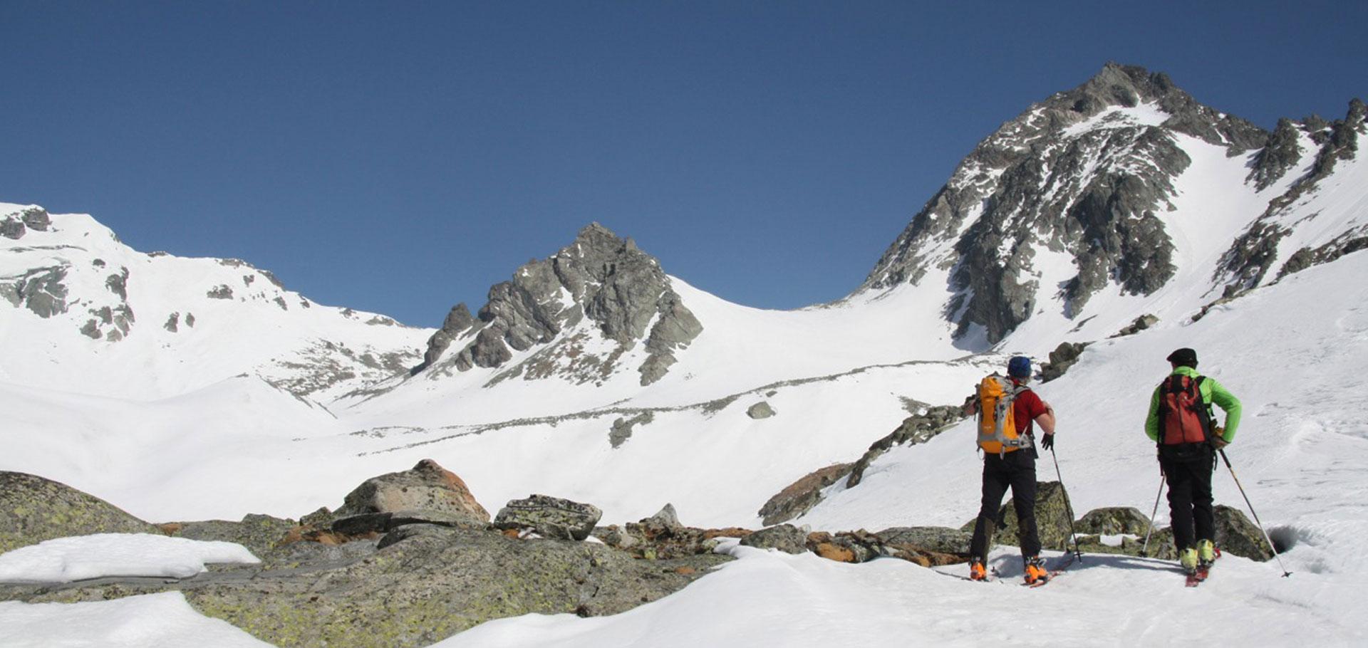 Ski de randonnée avec Guide de Haute Montagne